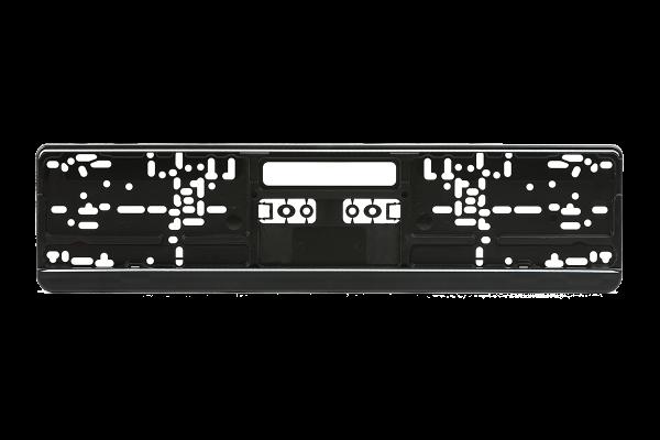 Kennzeichenhalter Kunststoff schwarz 460mm x 110mm